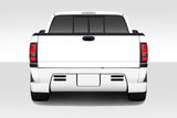 Duraflex BT-1 Rear Bumper Cover - 1 Piece for 1994-2001 Dodge Ram  #112019