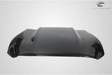 For 15-17 Ford Mustang Carbon Fiber Cowl Hood -1 Piece Carbon Creations  #112583