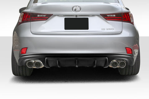Duraflex AM Design Style Rear Diffuser for 14-15 Lexus IS Series IS350   #112769