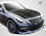 For 2007-13 Infiniti 4DR G25 G35 G37 Q40 DriTech Carbon Fiber AM-S Hood 1Pc  #112964