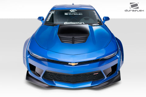 Duraflex Grid Hood - 1 Piece for 2016-2018 Chevrolet Camaro  #113019