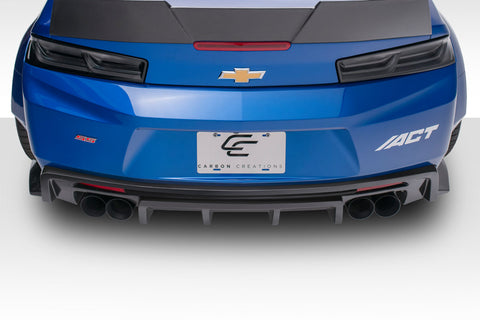 Duraflex Grid Rear Diffuser - 1 Piece for 2016-2018 Chevrolet Camaro   #113022