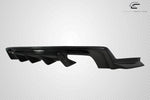 For 2016-2018 Chevrolet Camaro Carbon Fiber Grid Rear Diffuser - 1 Piece #113050