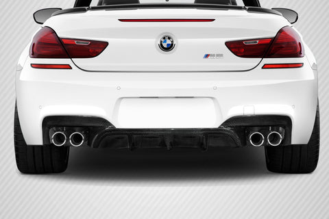 For 2011-2019 BMW 6 Series M6 F06 F12 F13 Carbon Fiber AMK Rear Diffuser  #113484