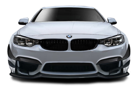 Fits 2014-2020 BMW 4 Series F32 AF-1 Wide Body Front Lip Spoiler ( GFK ) - 1 Piece  #113584