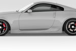 For 2003-2008 Nissan 350Z Z33 Duraflex AM-S GT2 Side Skirts  #113886