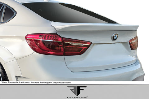 Fits 2015-2019 BMW X6 F16 / X6M F86 AF-1 Trunk Wing Spoiler ( GFK ) - 1 Piece  #114160