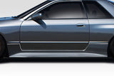 Duraflex Demon Side Skirts Panels for 1989-1994 Skyline Nissan R32 2DR   #114765