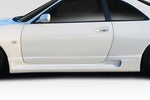 Fits 1995-1998 Nissan Skyline R33 2DR Duraflex N1R400 Side Skirt Rocker Panels #114829