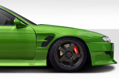 Fits 1997-1998 Nissan 240SX S14 Duraflex Supercool Wide Body Front Fenders  #114854
