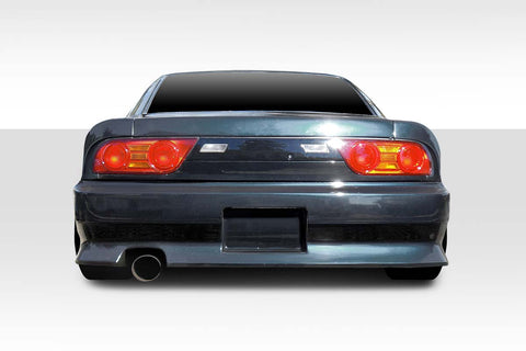 Fits 1989-1994 Nissan 240Sx S13 HB Duraflex V-Speed Wide Body Rear Bumper Cover #114927