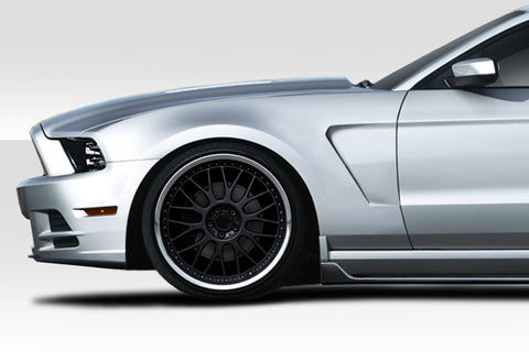 Duraflex GT350 V2 Look Front Fenders for 2010-2014 Ford Mustang  #115036