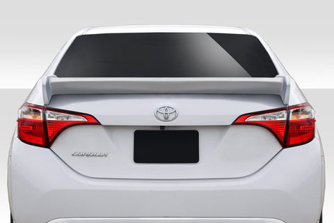 Duraflex Zeta Rear Wing Spoiler - 1 Piece for 2014-2016 Toyota Corolla  #115050