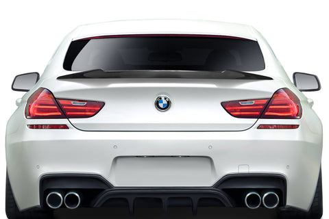For 11-19 BMW 6 Series M6 F06 F12 F13 Carbon AF-1 Rear Wing Spoiler CFP  #115058