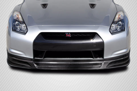 Fits 2009-11 Nissan GT-R R35 Carbon Fiber C1 Front Lip Under Spoiler Air Dam #115147