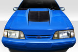 Duraflex GT500 V2 Hood - 1 Piece for 1987-1993 Ford Mustang   #115187