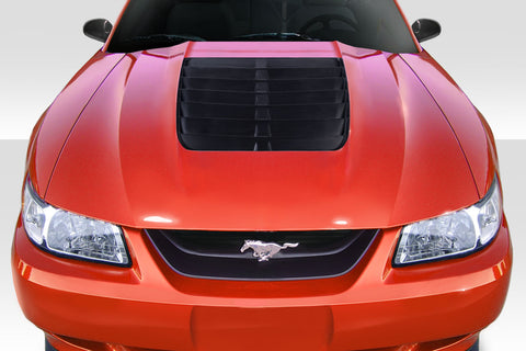 Duraflex GT500 V2 Hood - 1 Piece for 1999-2004 Ford Mustang   #115191