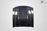 For 1999-2004 Ford Mustang Carbon Creations GT500 V2 Hood - 1Pc Carbon Fiber  115192