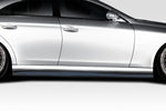 Duraflex L Sport Side Skirt Splitters Fits 2006-2011 Mercedes CLS Class  #115244