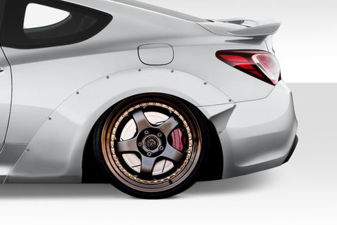 Duraflex MSR V2 70mm Rear Fender Flares for 2010-2016 Genesis Coupe 2DR  #115276