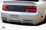 Duraflex Colt V2 Rear Bumper - 1 Piece for 2005-2009 Ford Mustang  #115293