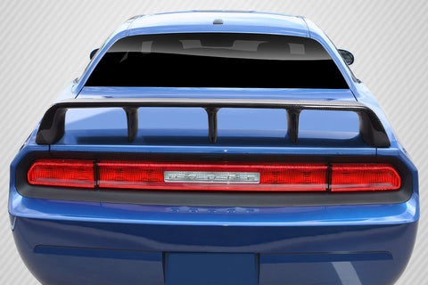 For 2008-2019 Dodge Challenger Carbon Creations CVX Wing Spoiler - 1 Piece #115435