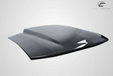 "For 2005-09 Ford Mustang  Carbon Fiber 2.5"" Cowl Hood 1Pc Carbon Creations  #115533"