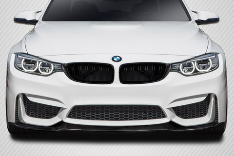 For 14-19 BMW M3 F80 14-20 M4 F82 F83 Carbon Fiber CS Look Front Lip Under Spoiler #115596