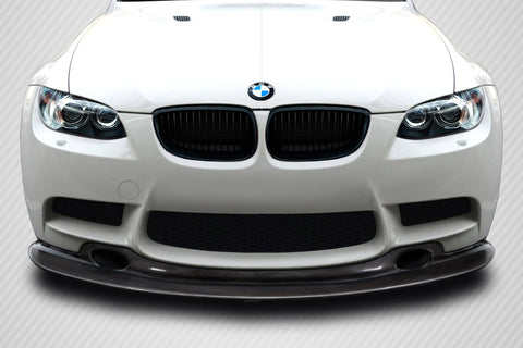 Fits 2008-13 BMW M3 E90 E92 E93 Carbon Fiber GT4 Look Front Lip Under Spoiler  #115600