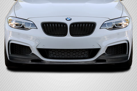 Fits 2014-2020 BMW 2 Series F22 F23 Carbon Fiber  GTF Front Lip Under Spoiler  #115614