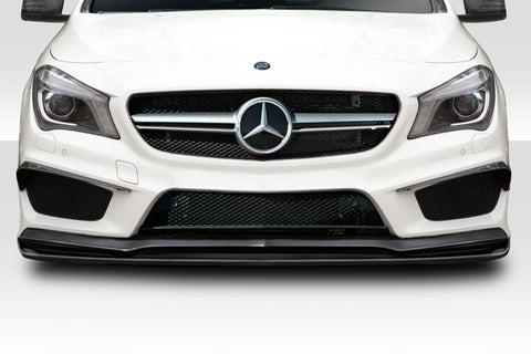 Fits 2014-15 Mercedes CLA Class Duraflex R Spec Front Lip Under Spoiler  #115625