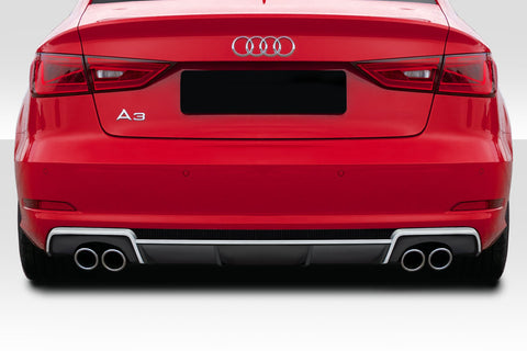 Fits 2013-2016 Audi A3 Duraflex RS3 Look  Rear Diffuser  1 Piece  #115672
