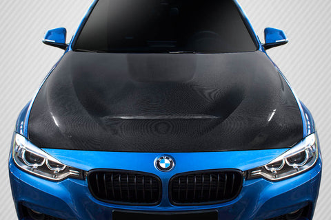 For 2012-18 BMW 3 Series F30 / 2014-20 4 Series F32 Carbon Fiber GTS Look Hood #115765