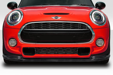 For 14-20 Mini Cooper S F55 F56 F57 Carbon Fiber J Spec Front Lip Under Spoiler #115809
