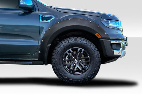 Fits 2019-2020 Ford Ranger Duraflex AVR Fender Flares - 6 Pieces  #115855