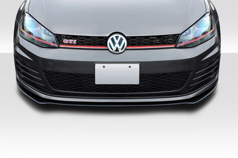 Fits 2015-2017 Volkswagen Golf GTI Duraflex Max Front Lip Under Spoiler - 1 Piece  #115909