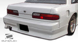 Fits 1989-1994 Nissan 240SX S13 2DR Duraflex V-Speed Rear Bumper Cover  #100853