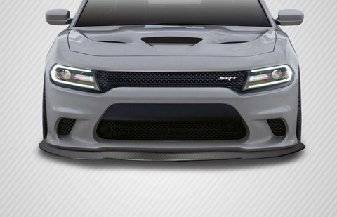 For 2015-2019 Dodge Charger SRT / Hellcat Carbon Creations DriTech Sonic Front Spliiter - 1 Piece Item #114237