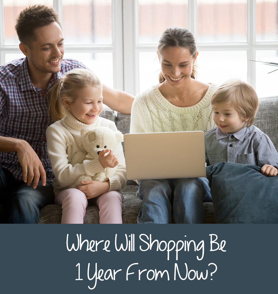 Where Will Shopping Be 1 Year From Now?