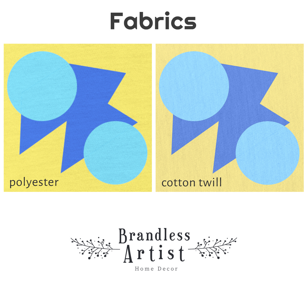 Black Pillow Fabric | Brandless Artist