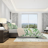 Green Boho Bedding Set