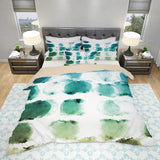Brushstroke Bedding Set - Inspired Duvet Cover Set - Brush Pattern Bedroom Decor | Brandless Artist
