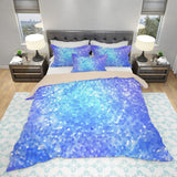 Blue Sparkle Bedding - Girl's Room Bedding | Brandless Artist