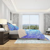 Sparkle Duvet Cover - Blue Bedding for Girls | Brandless Artist