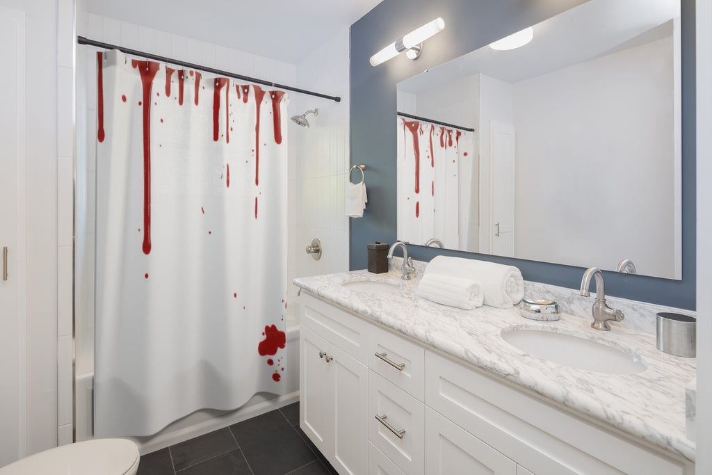 Blood Shower Curtains - Halloween Shower | Brandless Artist