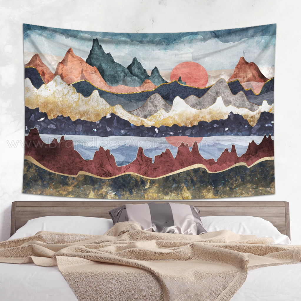 Boho Landscape Decor Tapestry Wall Hanging | Brandless Artist