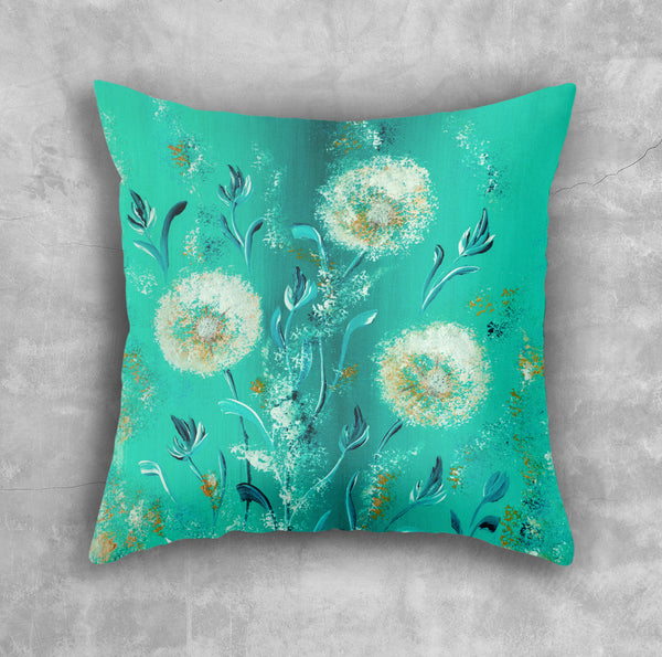 Turquoise Pillow - Brandless Artist