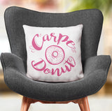 Donut Lover Gift Fun Food Square Pillow for Sofa | Brandless Artist