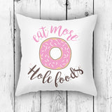 Funny Donut Pillow for Food Lovers | Brandless Artist