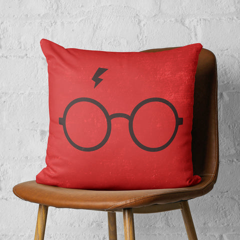harry potter throw pillow on chair